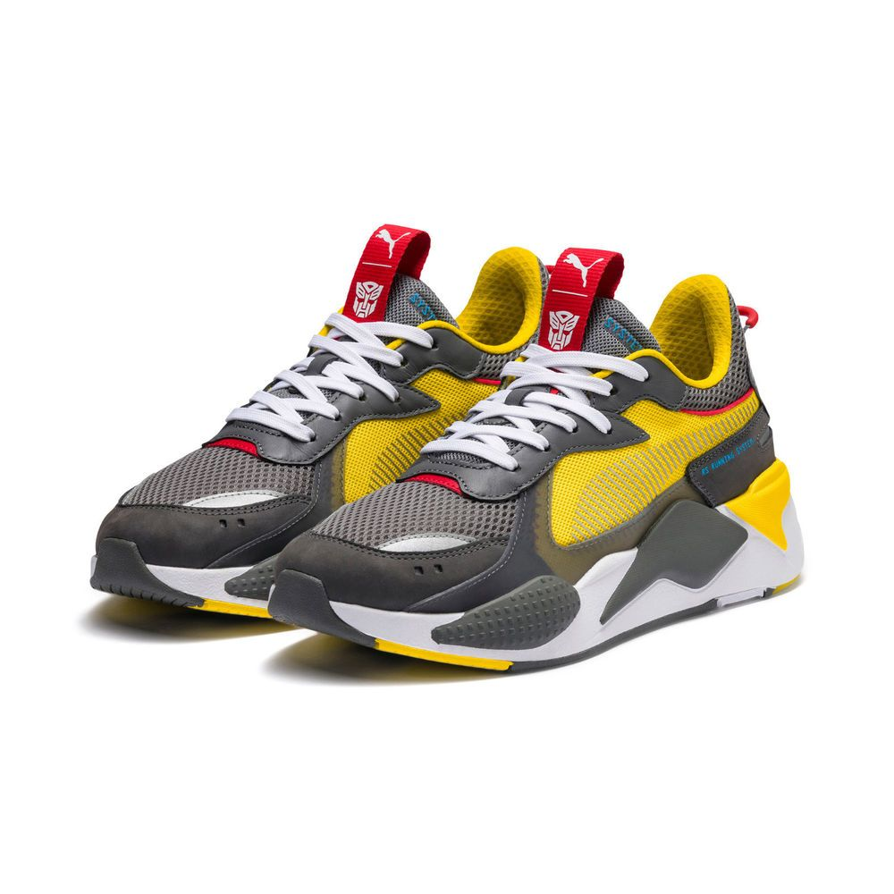 PUMA RSX TRANSFORMERS BUMBLEBEE QUIET SHADE CYBER YELLOW