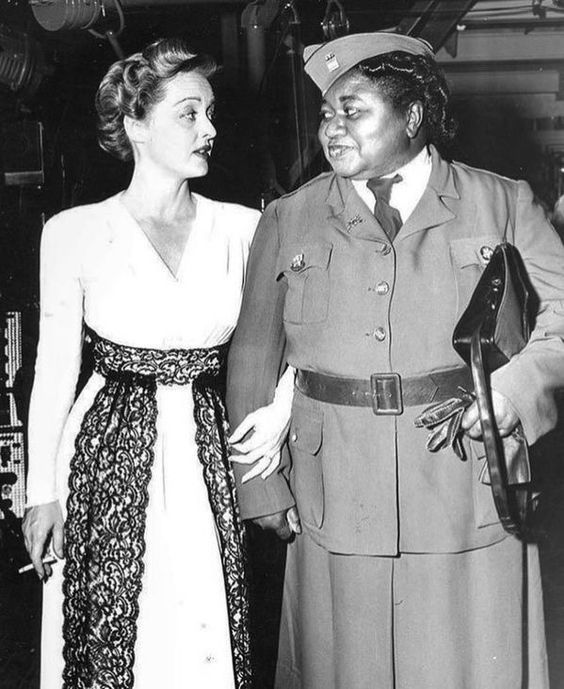 Bette Davis and Hattie McDaniel!