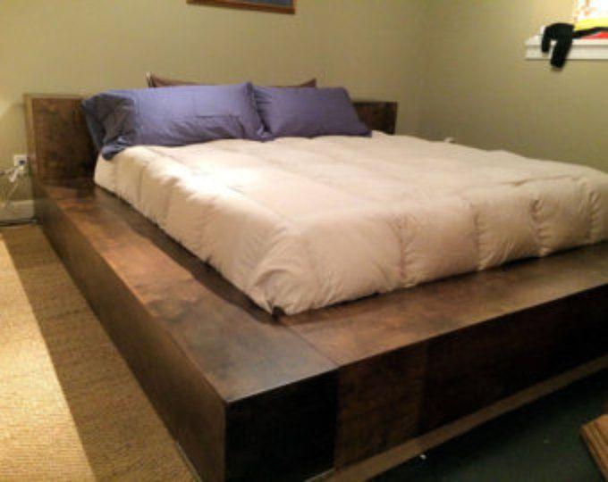 Donnelly Atlanta Custom Platform Bed W Covert Gunsafe Storage
