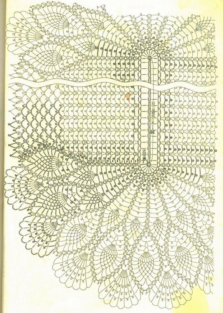 manteles ovalados tejidos a crochet - Buscar con Google | Sew ...