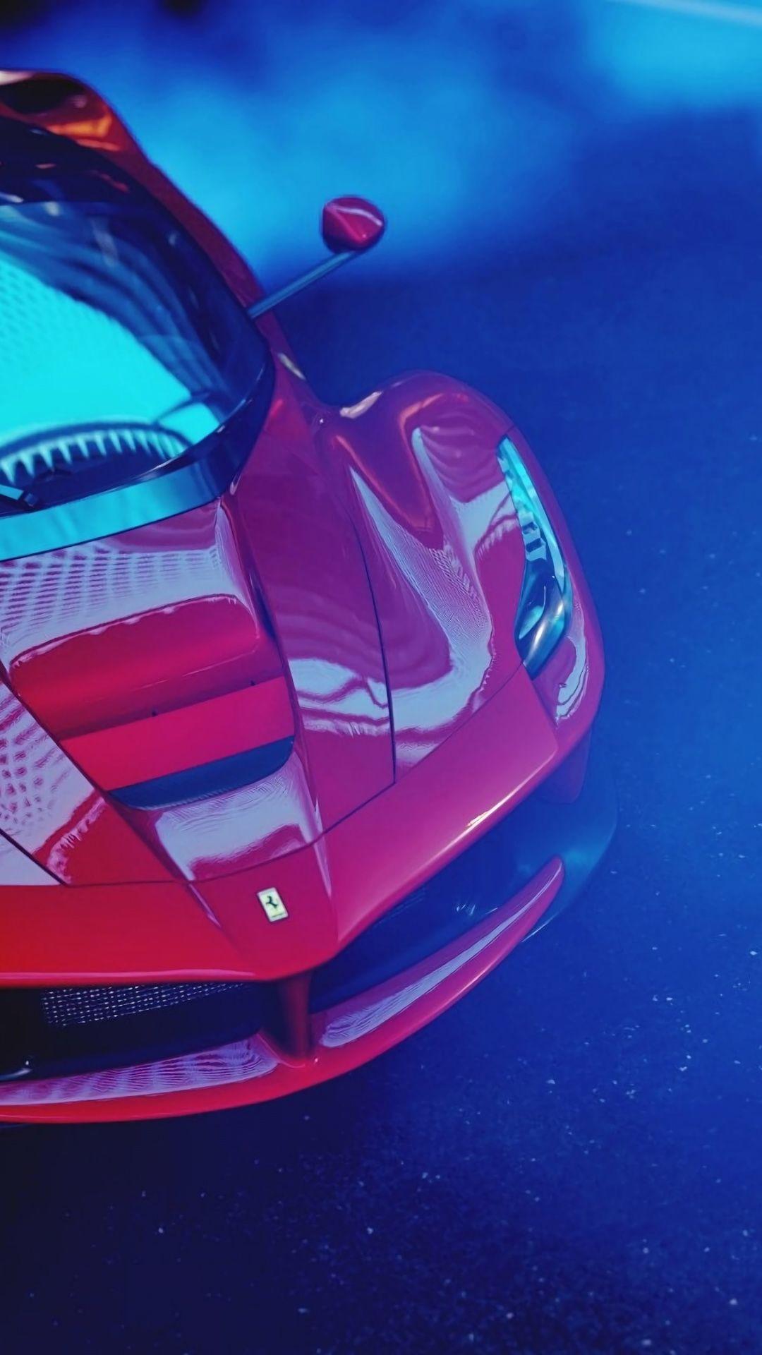 1080x1920 Wallpaper Sports Car Red Ferrari Laferrari Ferrari Laferrari Car Wallpapers Cars