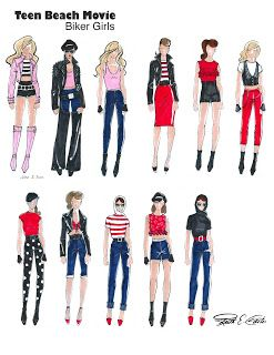 teen beach movie costumes | movie will premiere on Disney Channel on July 19th. 2013. Costumes ...