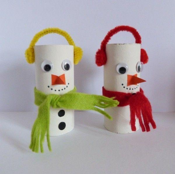 Ausgefallene Weihnachtsdeko selber machen - 42 Bastelideen mit Klopapierrollen #toiletpaperrolldecor