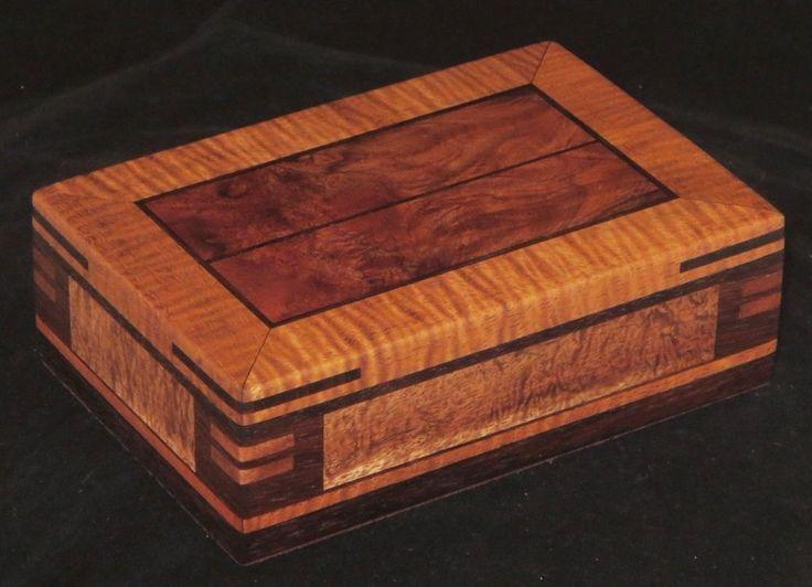 Custom Made Koa Watch Box Wood Design and Architecture Pinterest