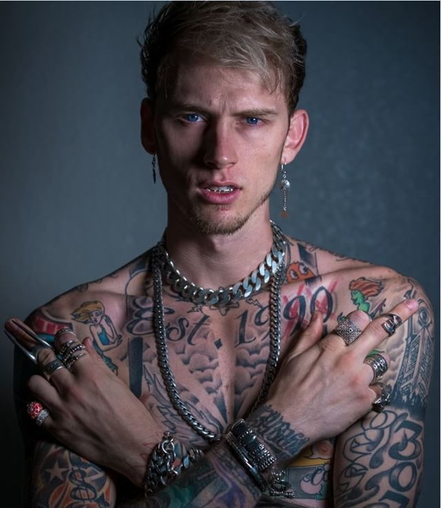 Congrats on releasing bloom 🌸 @machinegunkelly is taking over our Snapchat right now, check it out 👻: MTV