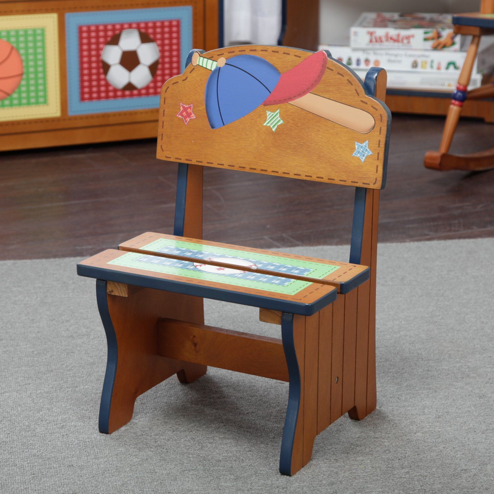 Prime Fantasy Fields Little Sports Fan Time Out Chair In 2019 Ibusinesslaw Wood Chair Design Ideas Ibusinesslaworg
