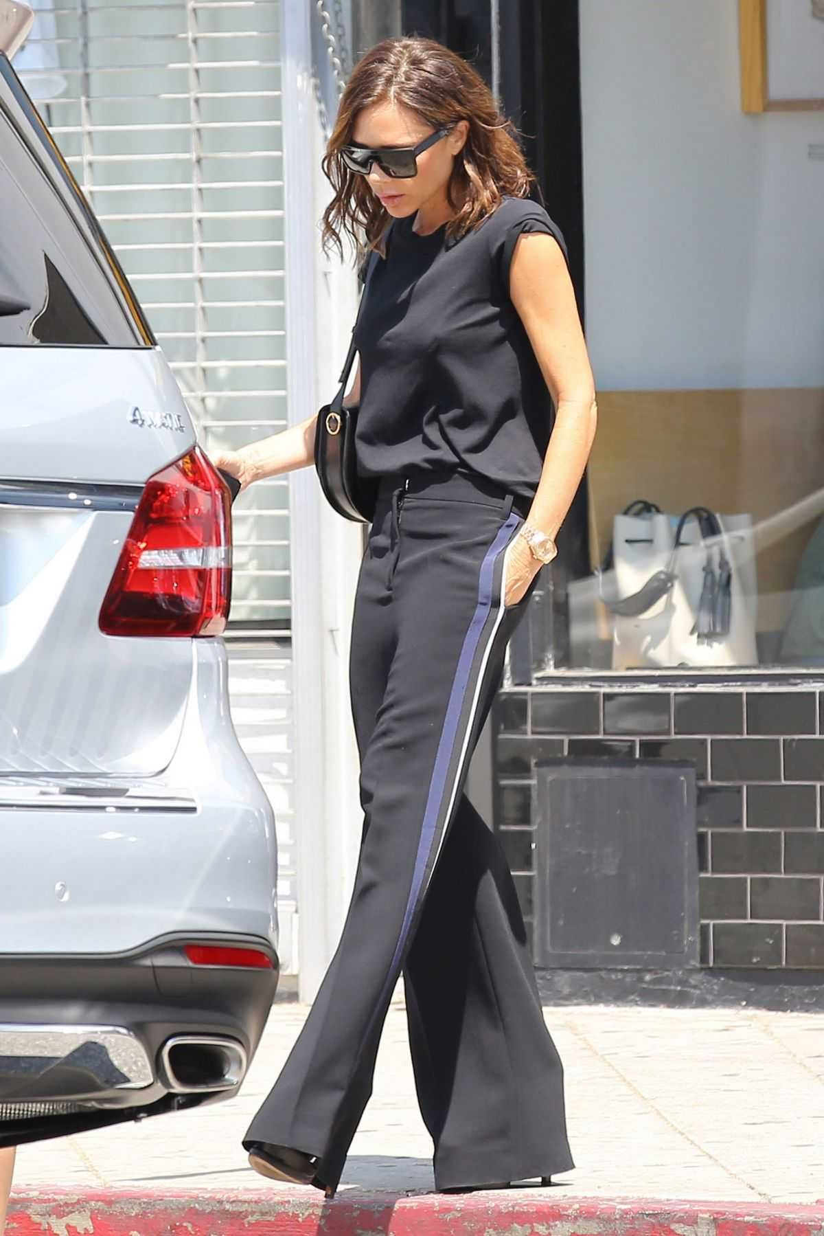 Victoria Beckham Out And About In Los Angeles - August 21, 2016