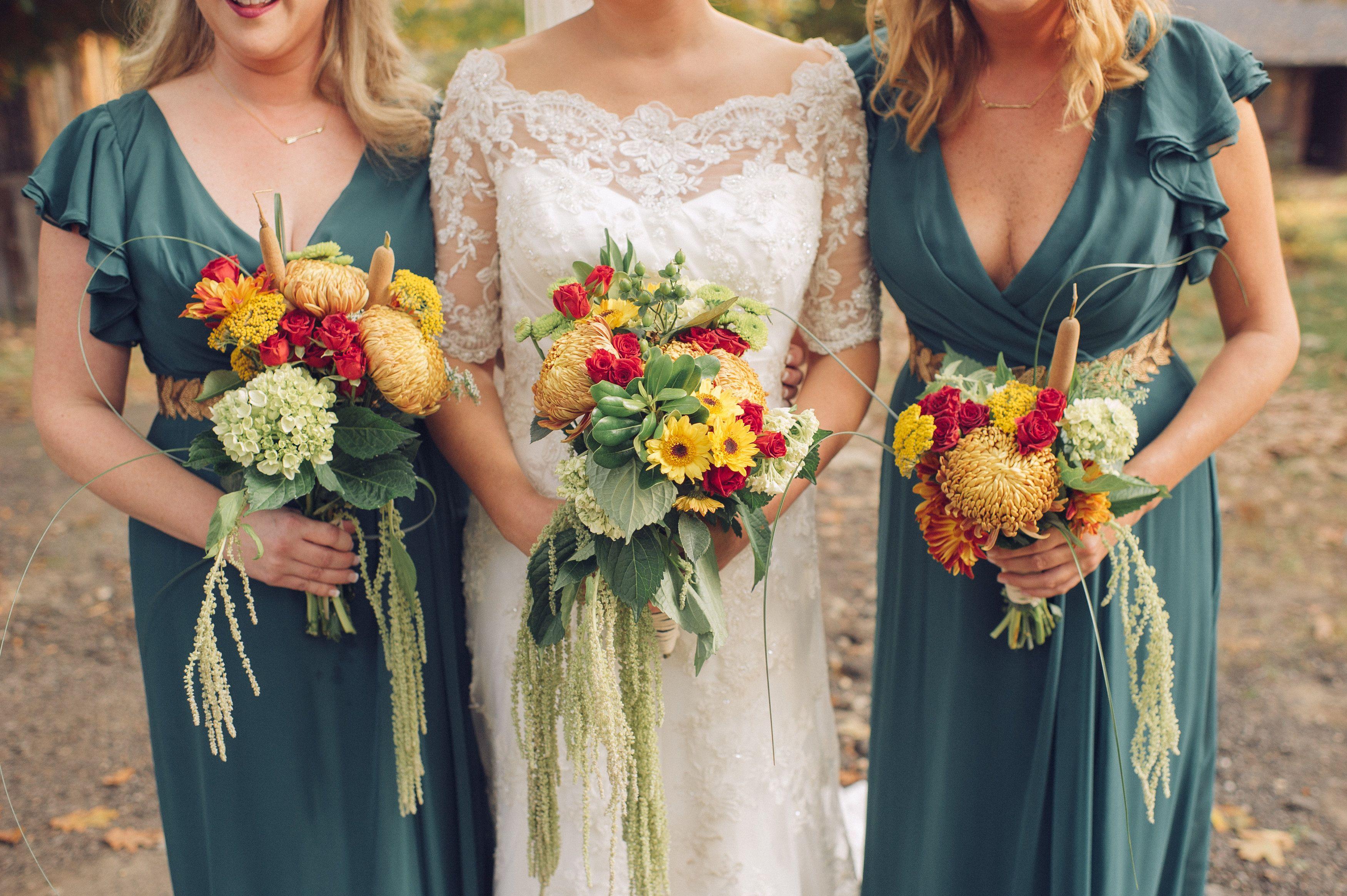 Real Camp Wedding: Bridesmaids (photo By @christinalilly