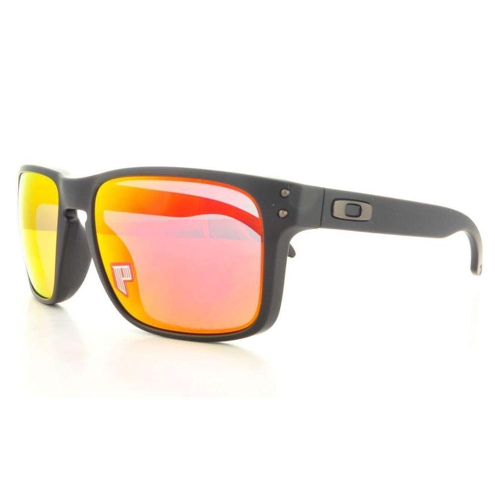 606c8a21c066 ... shopping new oakley sunglasses holbrook matte black ruby iridium  polarized lens oo9102 51 26465 28b0c