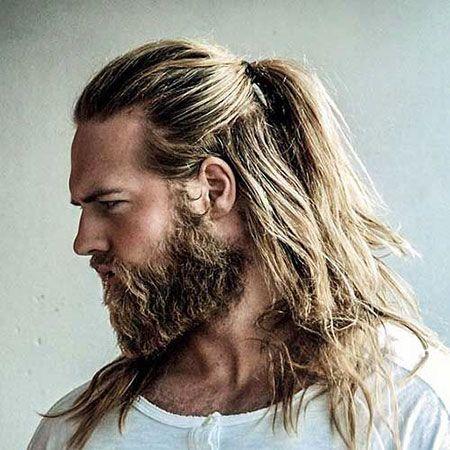 20 Beliebte Männer Lange Pferdeschwanz Schönes Haar Thorin Momoa
