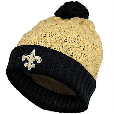 8414b0460 '47 Brand New Orleans Saints Ladies Matterhorn Cuffed Beanie - Old  Gold/Black