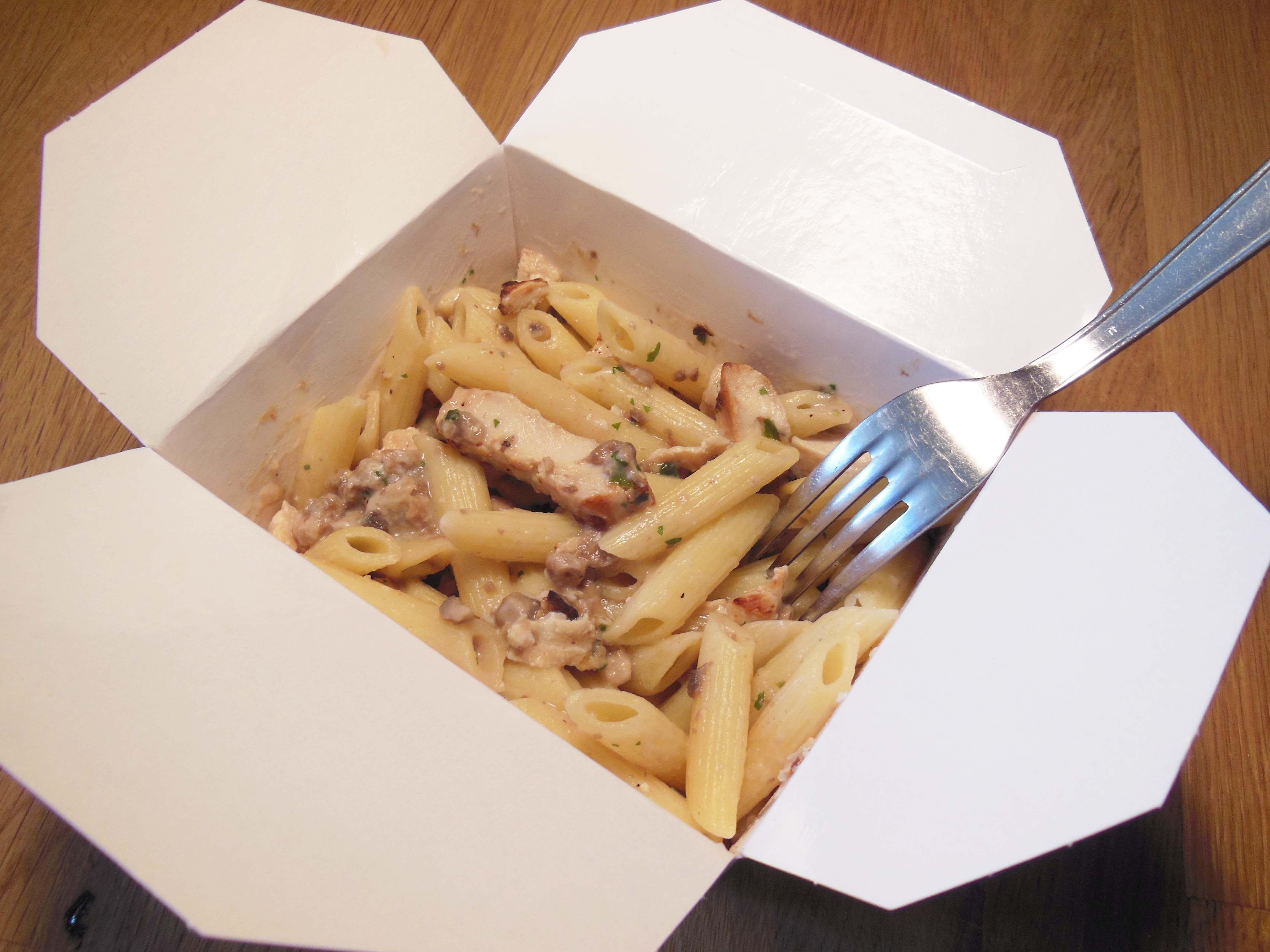 """Lunch Box"" Penne poulet champignons"