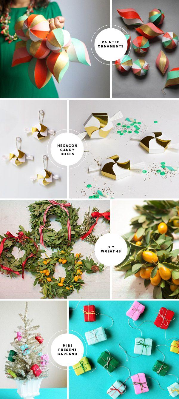 Fun Christmas DIY Ideas (Oh Happy Day!) | Diys, Craft ideas and Holidays