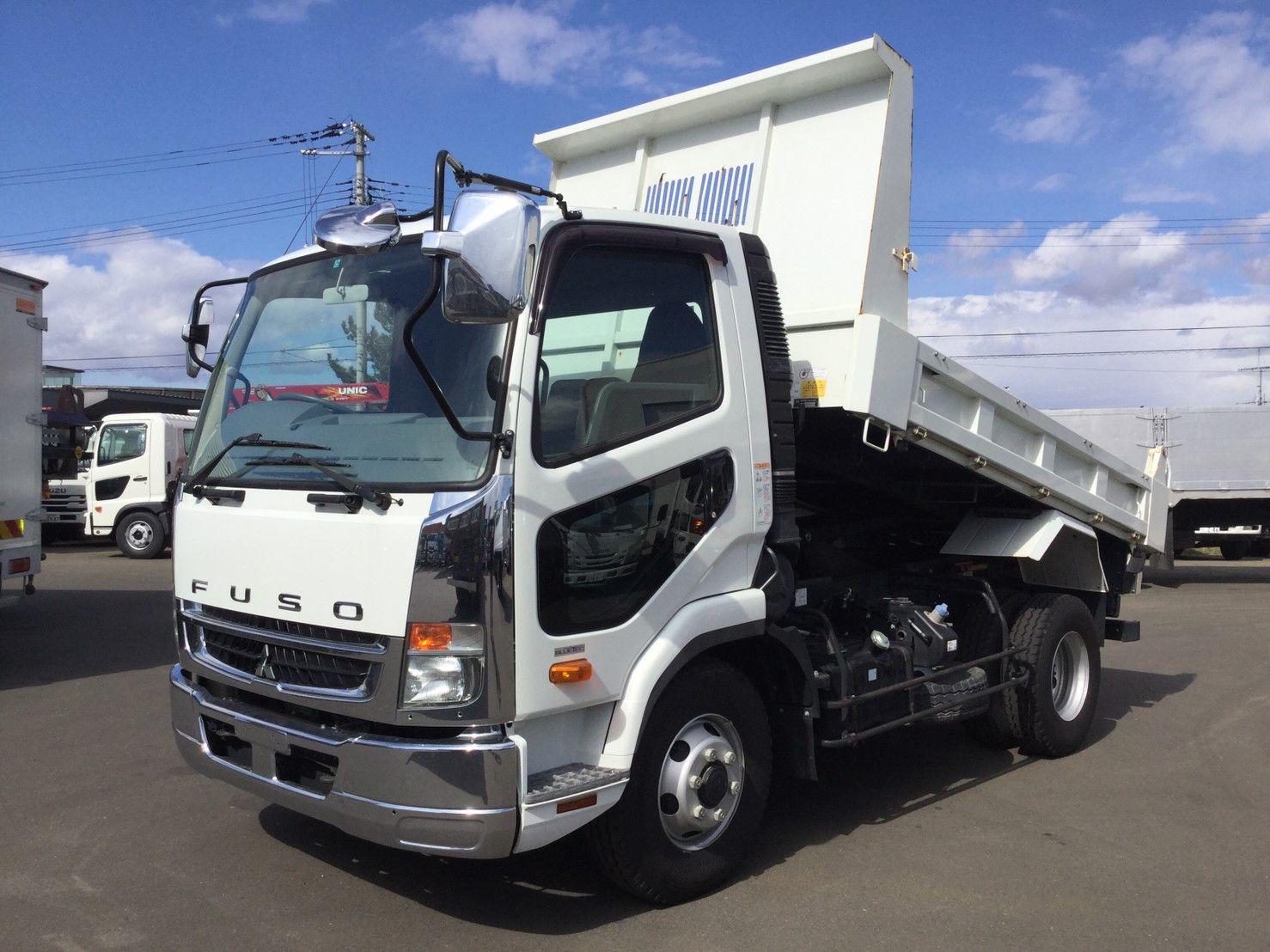 2016 Mitsubishi Fuso Fighter 4 Ton Dump Truck In 2020 Trucks Used Trucks For Sale Mitsubishi
