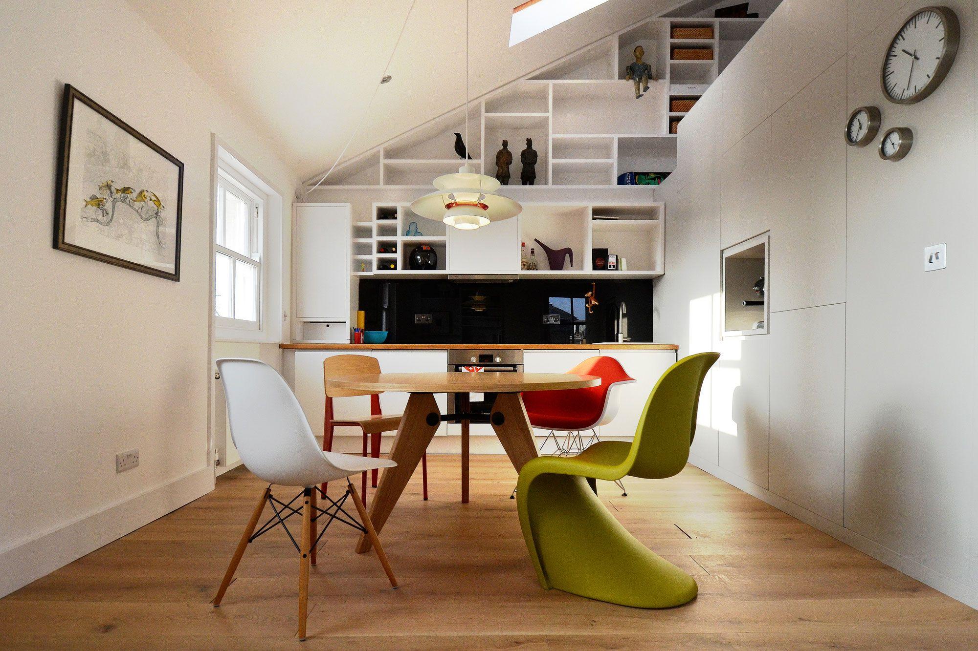 Loft bedroom regulations  Loft Space in Camden by Craft Design  Copa  Cozinha  Lunch room