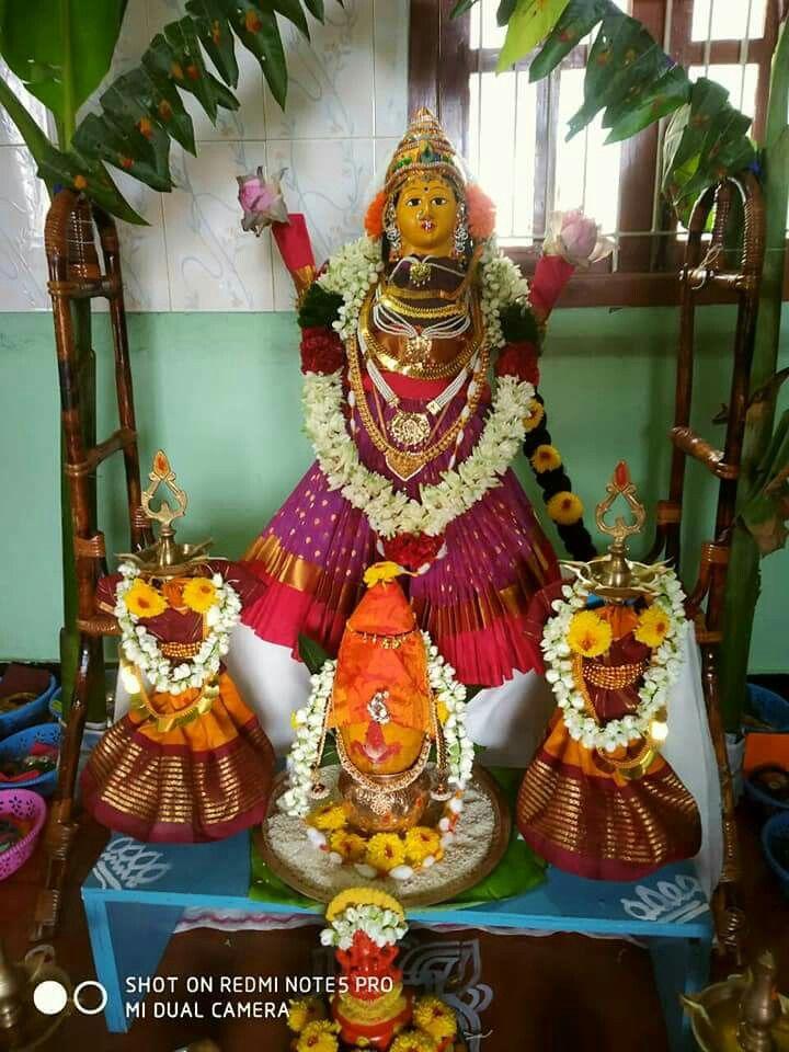 Lakshmi Flower Rangoli South Indian Weddings Ganesha