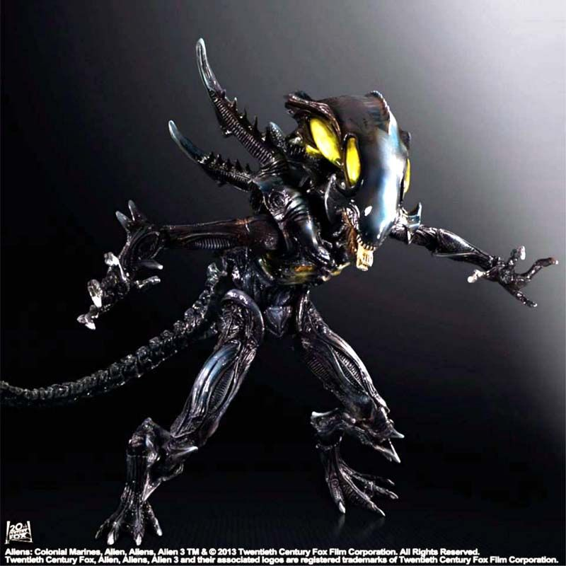 SQUARE ENIX ALIENS COLONIAL MARINES PLAY ARTS KAI SPITTER ACTION FIGURE