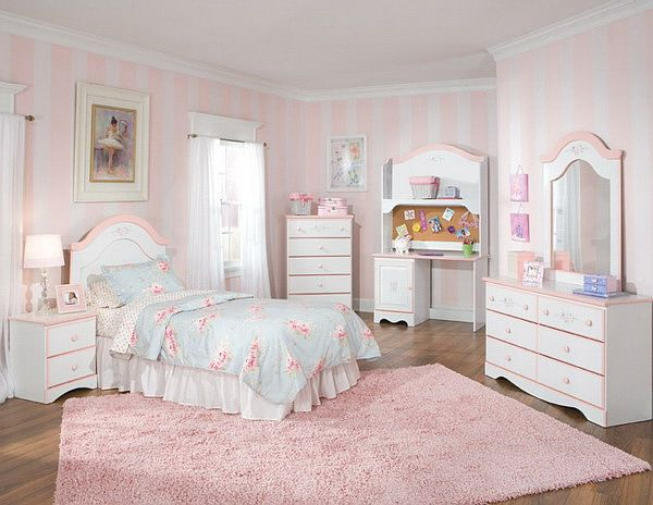 Pretty in pink | sypialnie bedroom | Pinterest | Girls bedroom ...