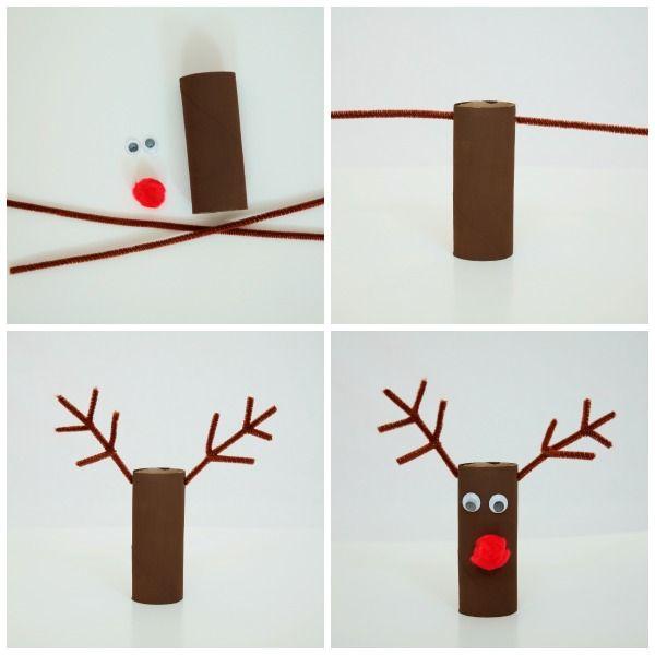 Paper plate Christmas craft - reindeer  sc 1 st  Pinterest & Paper plate Christmas craft - reindeer | winter | Pinterest | Craft ...
