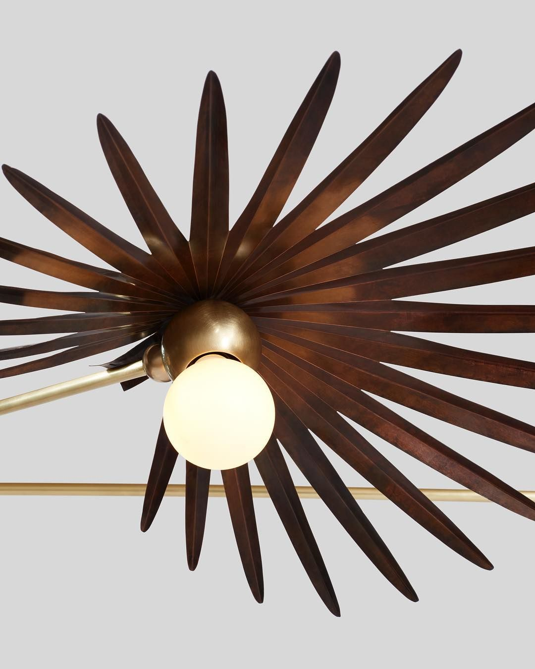 Upclose And Personal With Inez Chandelier In Antique Copper Finish