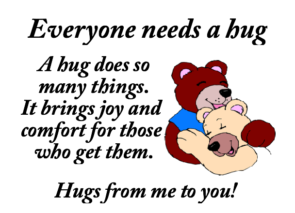 Everyone Needs A Hug... quotes cute friendship quote disney ...