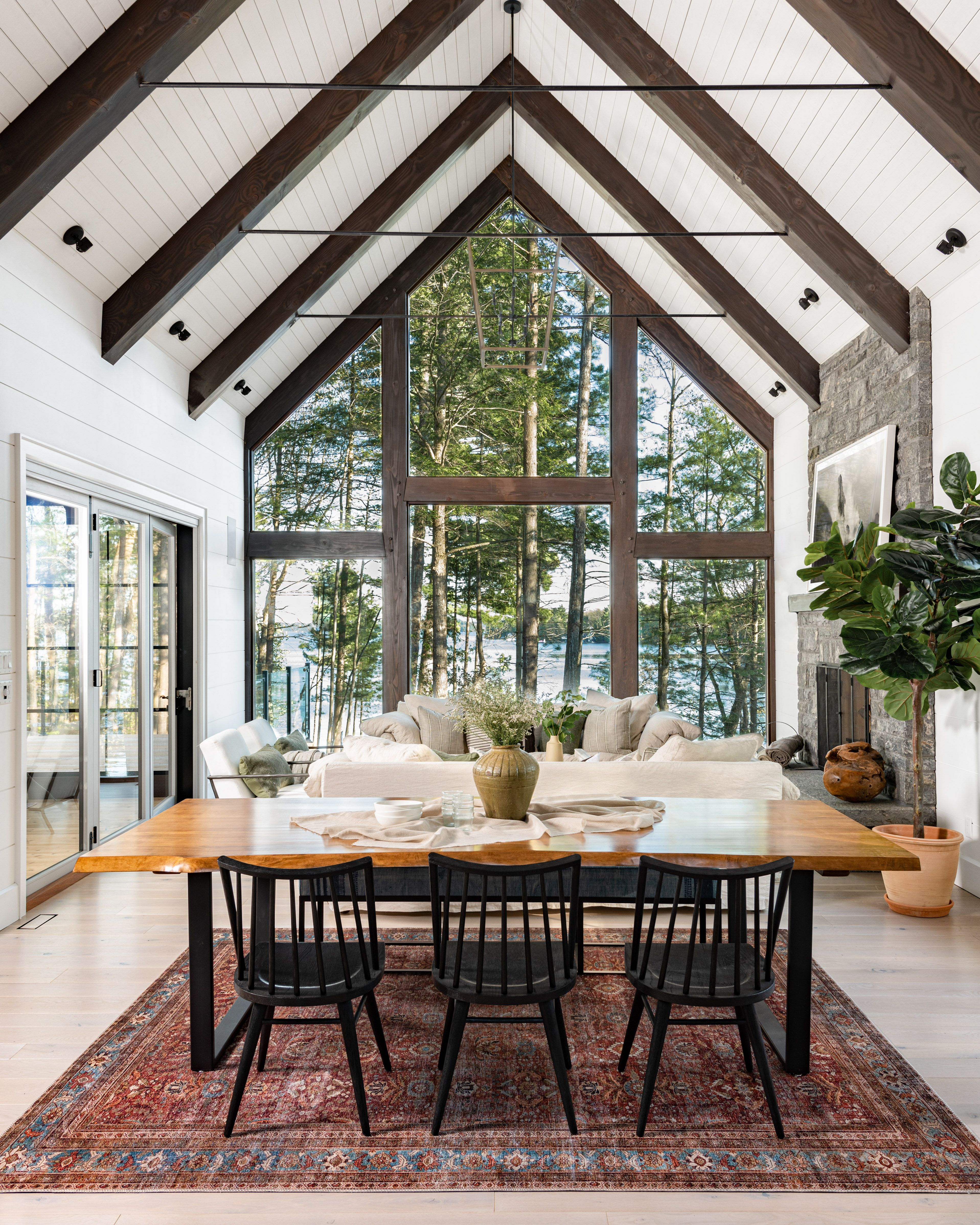 We Love An Open Concept That Offers Sweeping Views Of Lake Muskoka