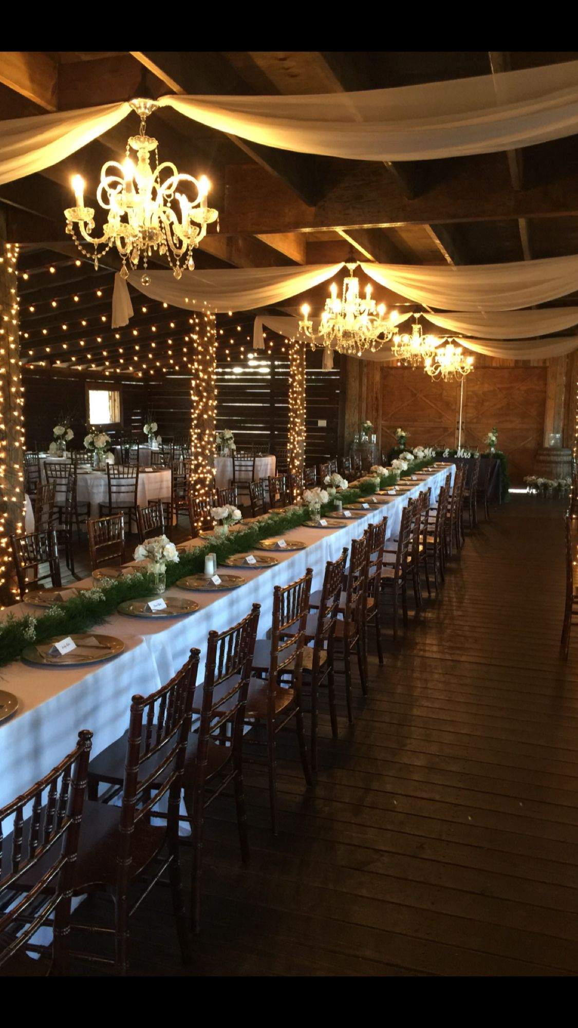 The Enchanting Barn Osteen, FL Rustic, elegant venue