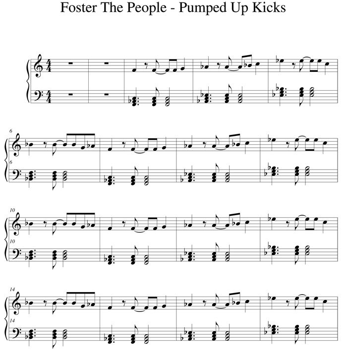 If The World Ever Ends Somebody Better Grab A Violin And - pumped up kicks roblox piano sheet