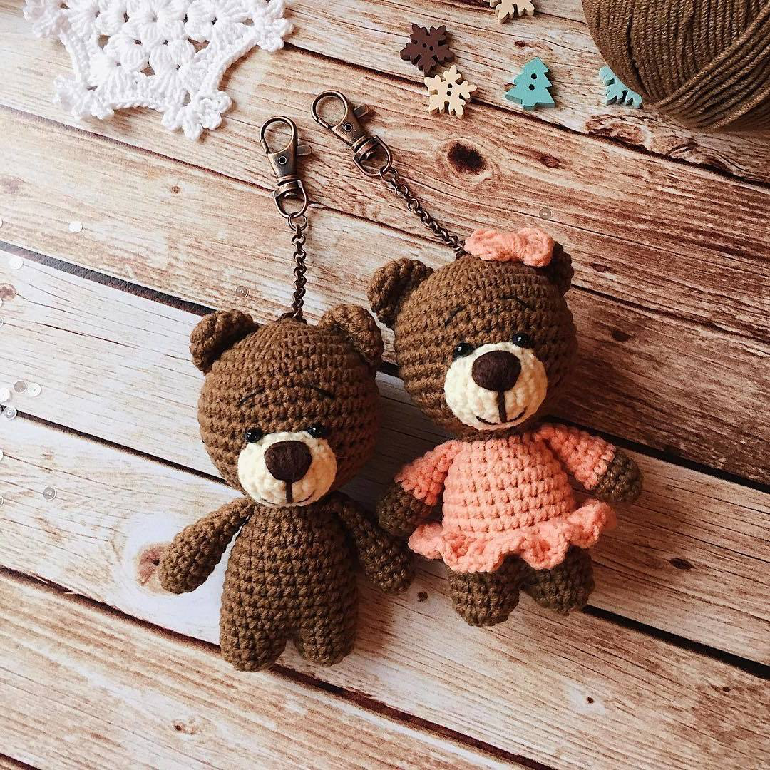 Amigurumi Teddy Bear Pattern In