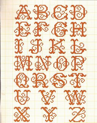 Filomena Crochet and Handcraft Other: Alphabet