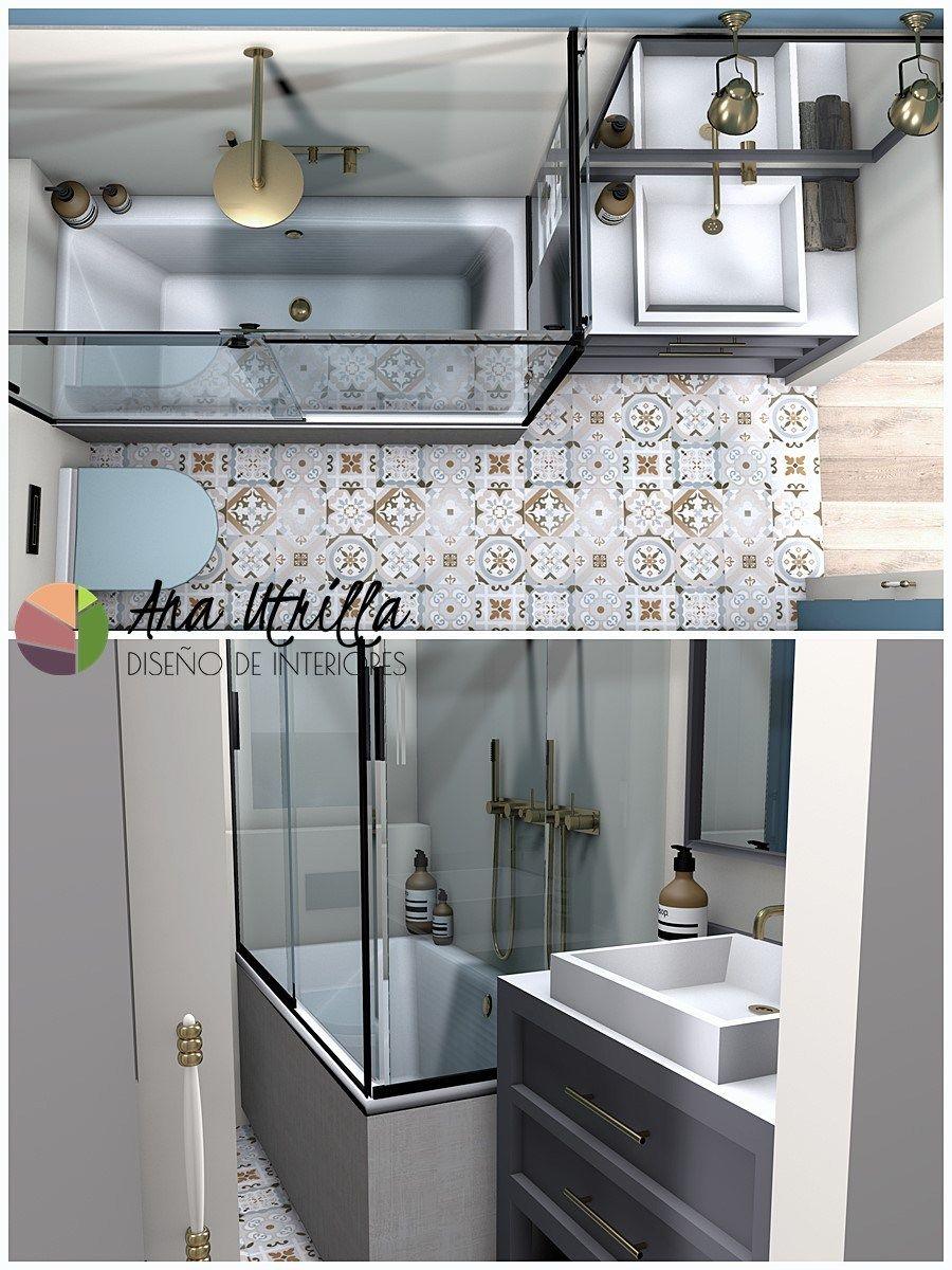 Infografías 3D, baños piso en Valladolid por Ana Utrilla   ⋆ ANA ...
