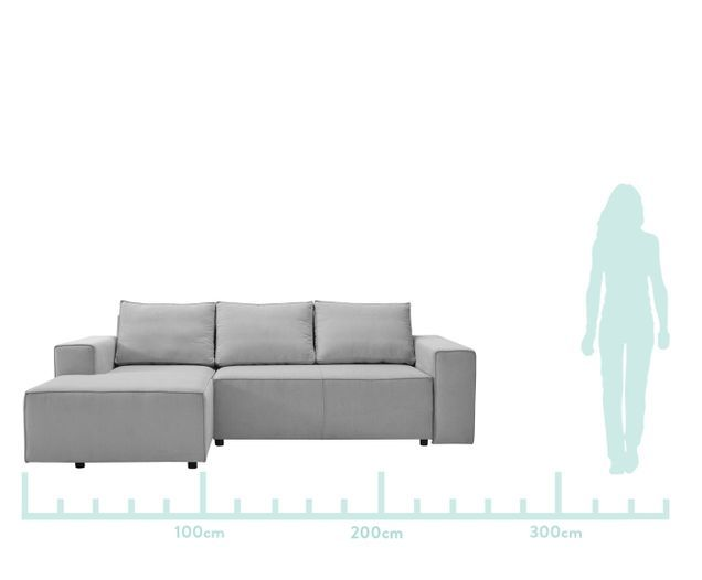 Divani Ad Angolo Con Letto.Divano Letto Angolare Con Contenitore Klaralven In 2020 Couch