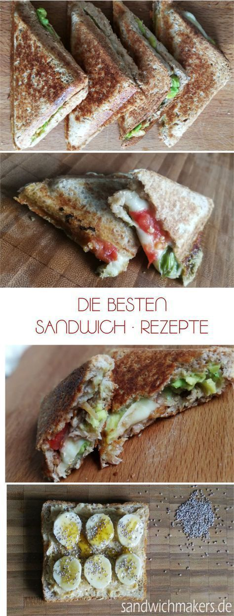 Sandwichmaker Rezepte - Sandwichmaker #sandwichrecipes
