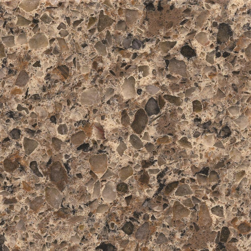 Silestone 2 Inx 4 Inquartz Countertop Sample In Sienna Ridge Amusing Home Depot Kitchen Countertops 2018