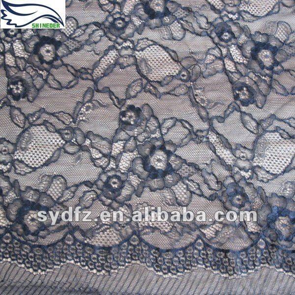 Guipure Lace Fabric | la moda de guipur cordón de nylon de la tela-Cordón-Identificación ...