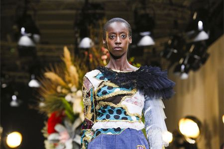 Viktor Horsting and Rolf Snoeren, the dynamic designer-duo behindViktor & Rolf, offered a continuation of their past Couture collection and once again breathed new life into vintage coutu...