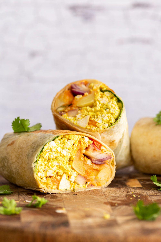Vegan Breakfast Burrito Recipe Vegan Richa High Protein Vegan Breakfast Vegan Breakfast Burrito Burritos Recipe