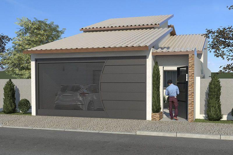 Planta de casa para terreno de 7x20 metros casas for Casa minimalista 7x20