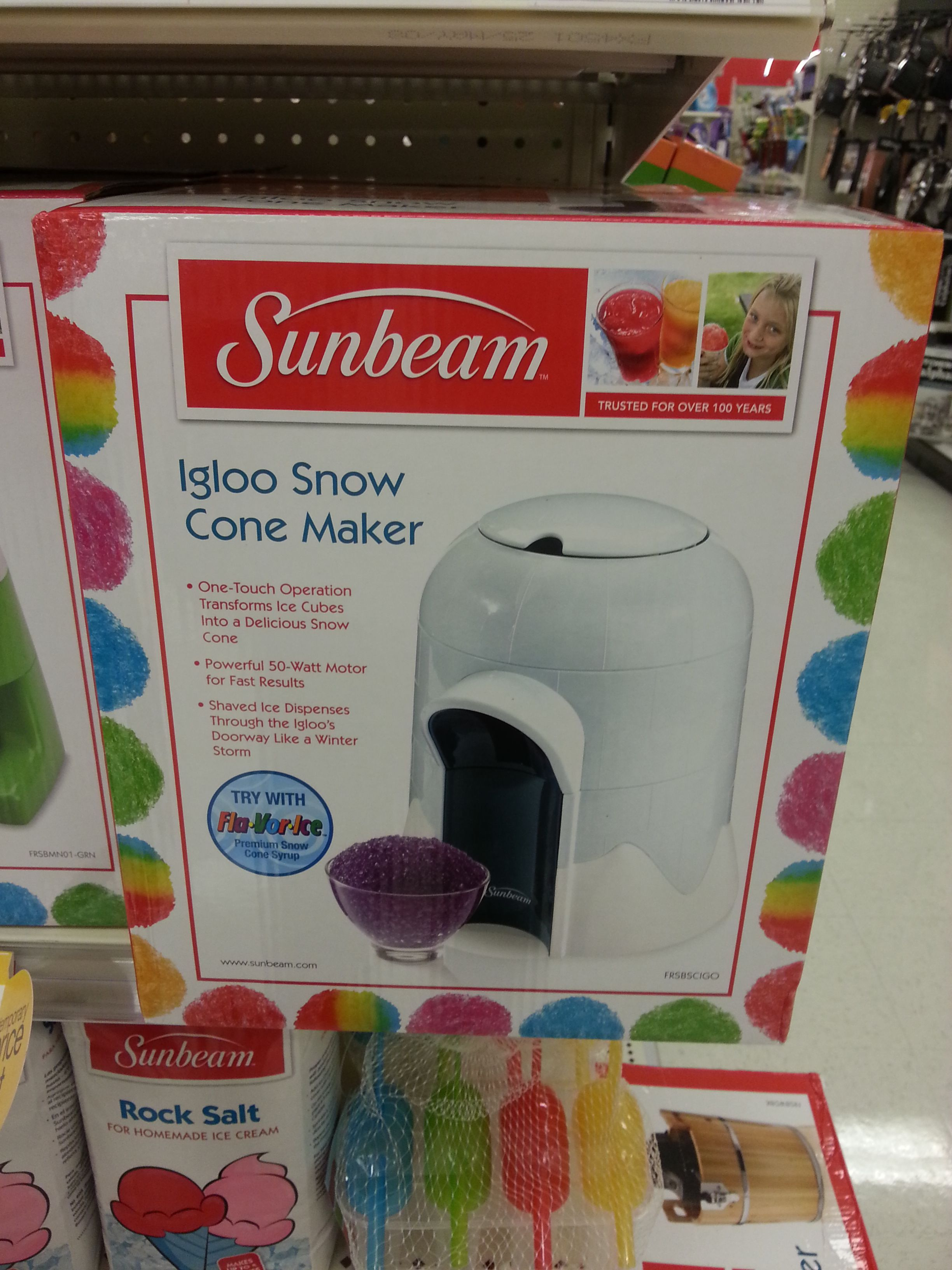 snow cone maker from Target