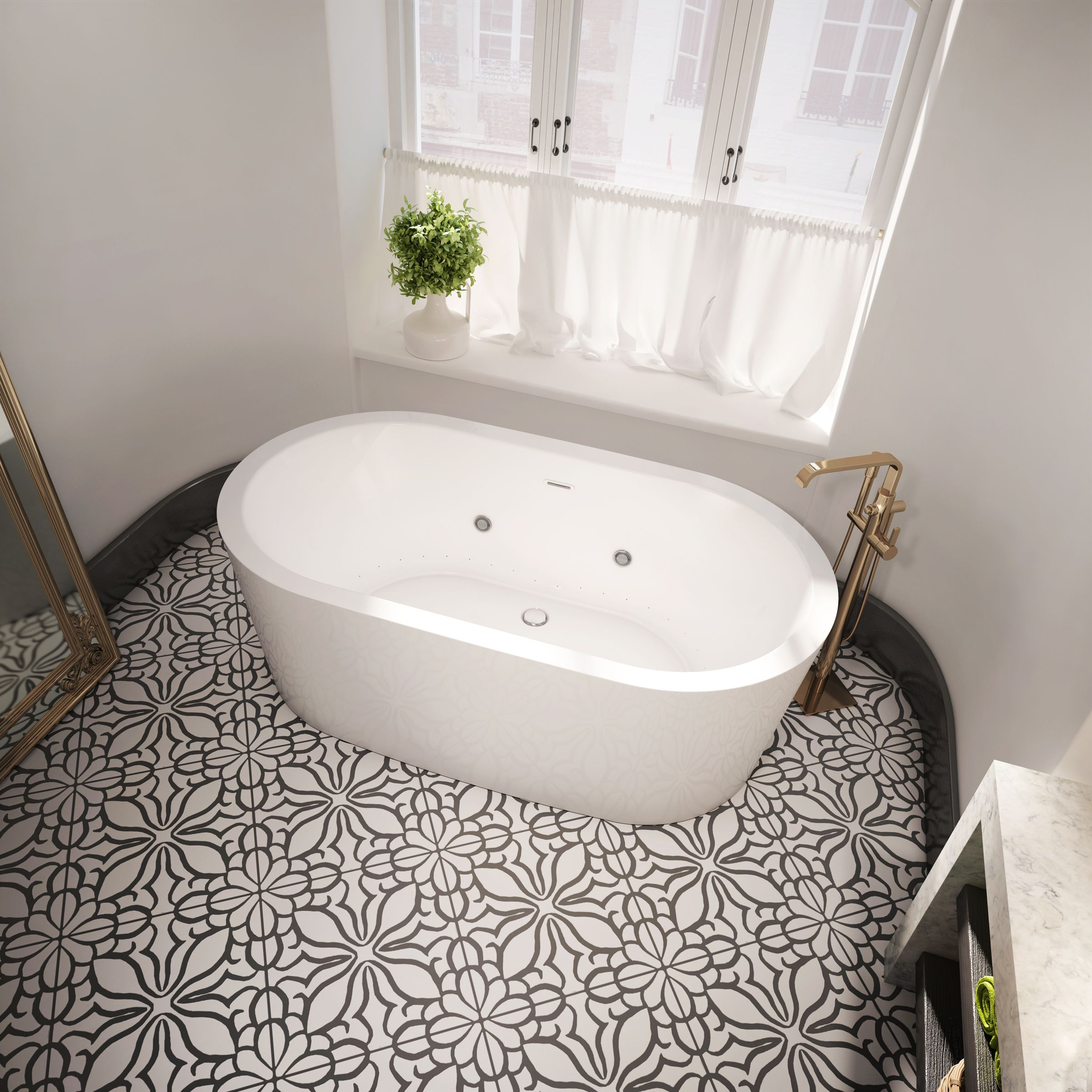 Brand new, our Nokori Oval freestanding bathtub is perfect for ...