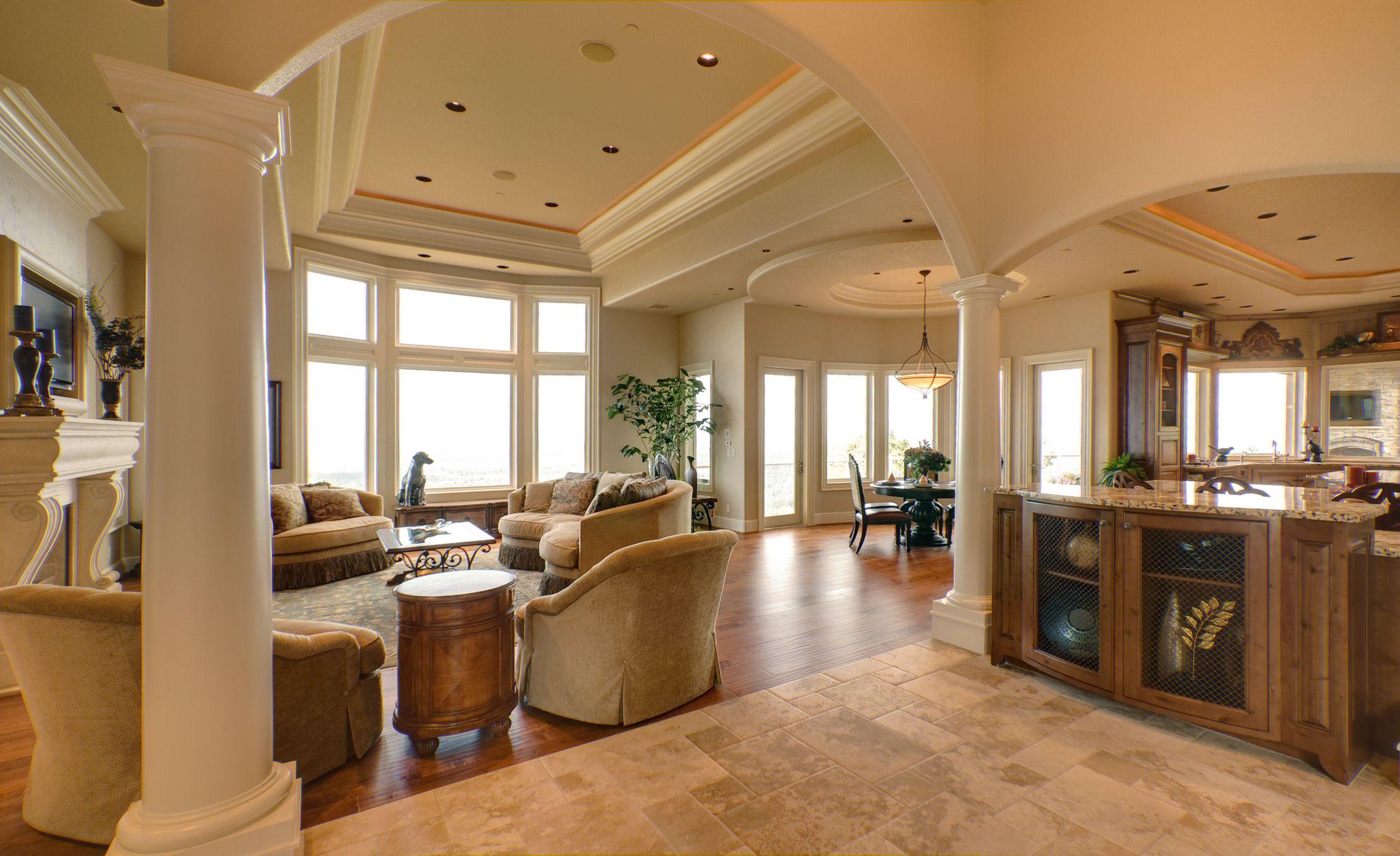 Woodbridge on interior plaster moulding for front foyer