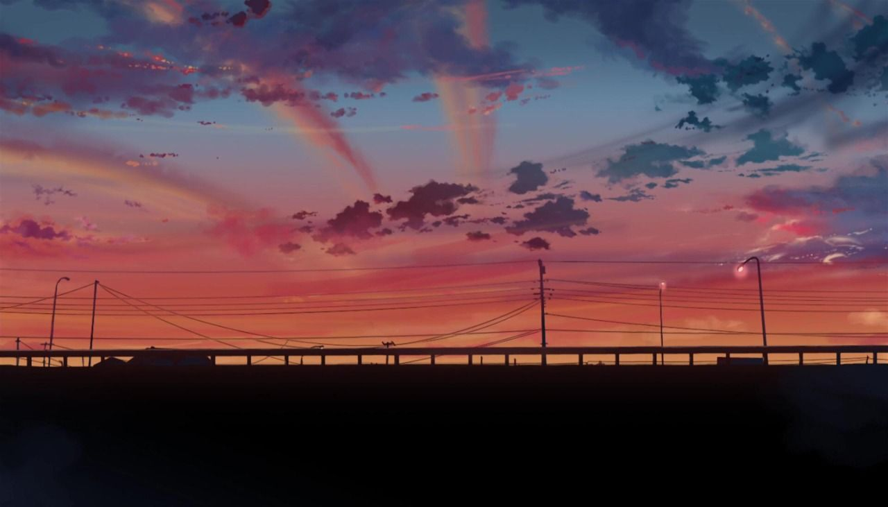 Anime Backgroundstumblr Post 48526697674 5 Centimeters Per Second Directed By Makoto