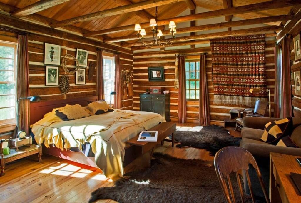 Home Design And Decor Rustic Cabin Decorating Ideas