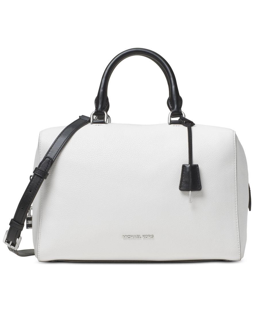f739237ef MICHAEL Michael Kors Kirby Large Satchel - Handbags & Accessories - Macy's