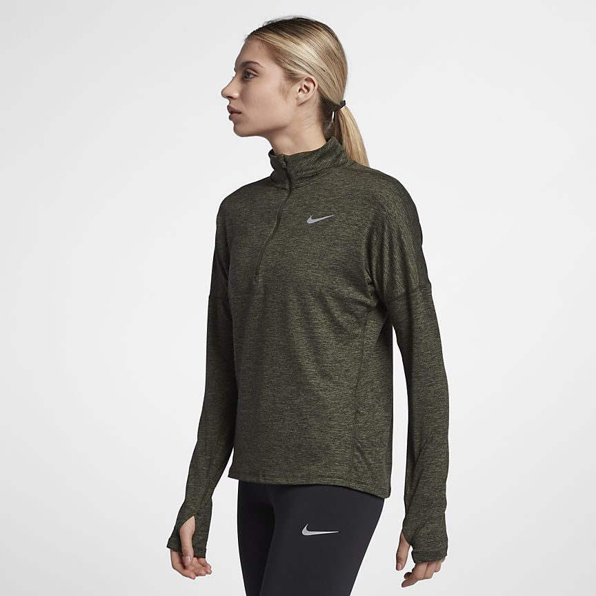 2919b048752 Nike Dri-FIT Element Women's Long-Sleeve Running Half-Zip Top ...