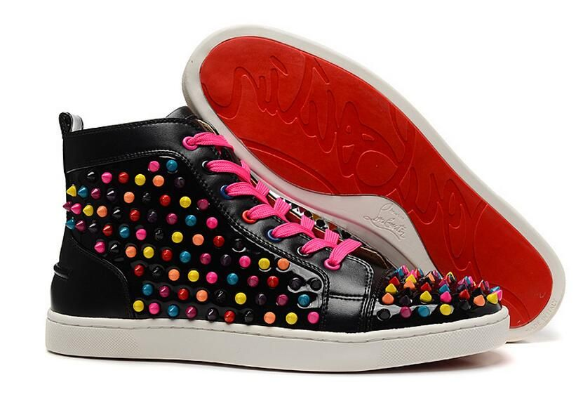 christian louboutin glitter sneakers replica