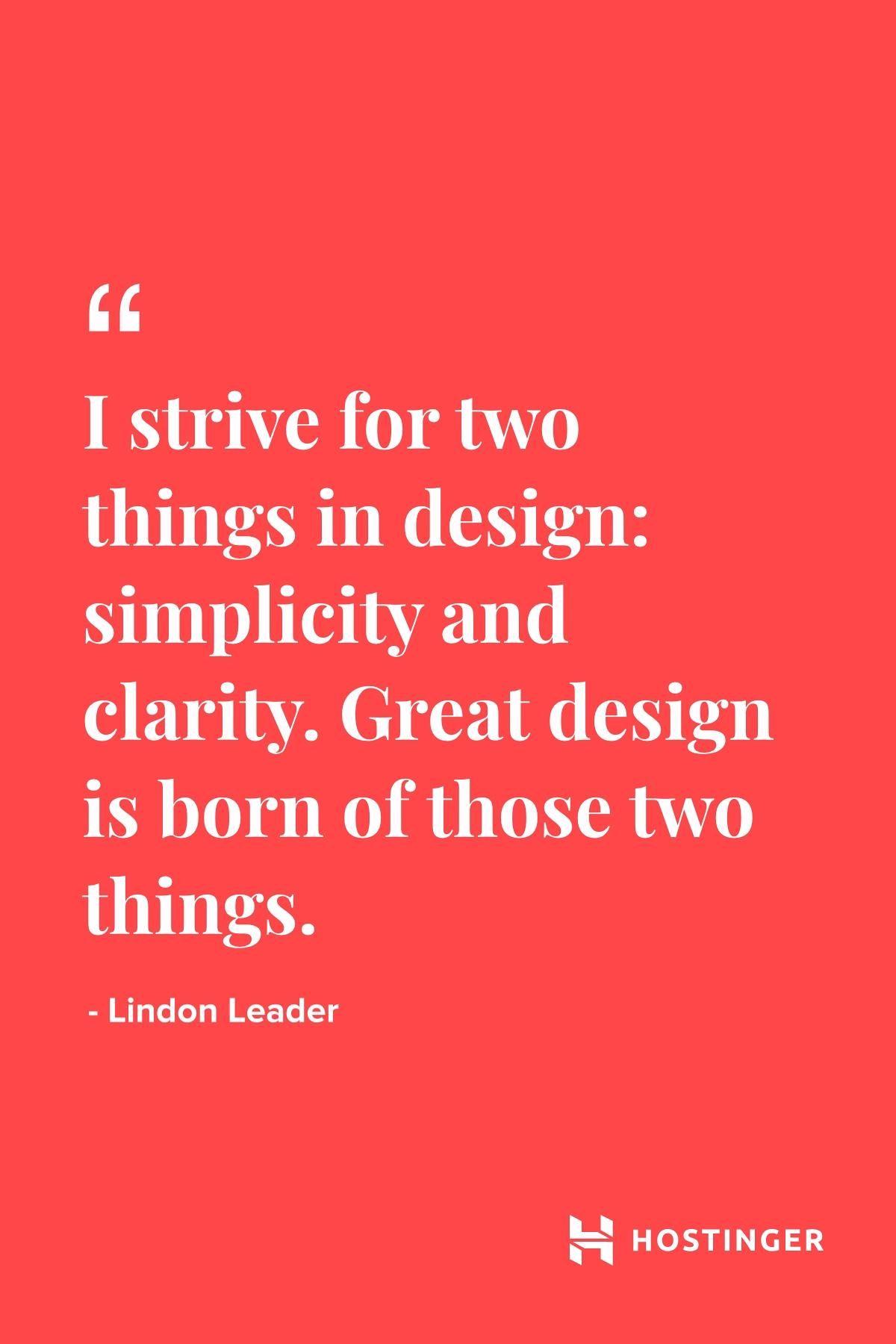 Quotes | Hostinger | Motivation | Lindon Leader