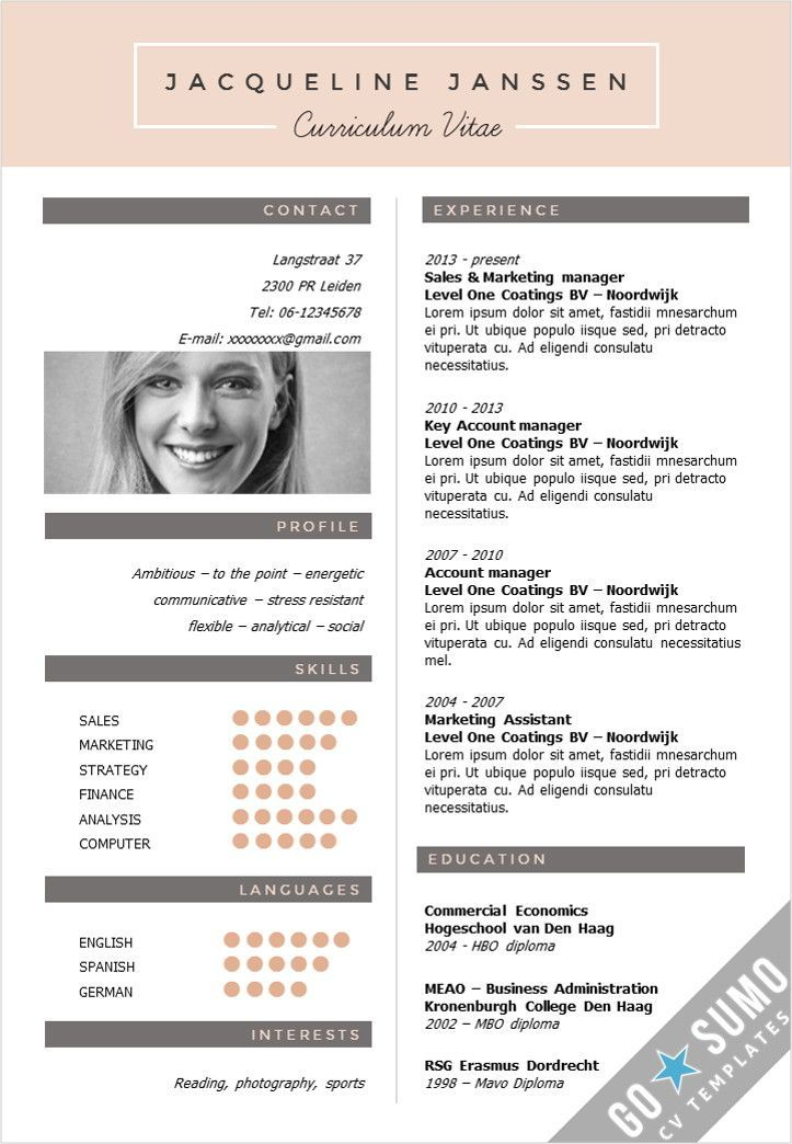 CV Template New York - Cv template, Resume template word, Creative cv template, Creative cv, Cv resume template, Creative cvs - CV Template New York, creative cv template in Word and PowerPoint, fully editable, direct downloadable  Get your cv noticed!