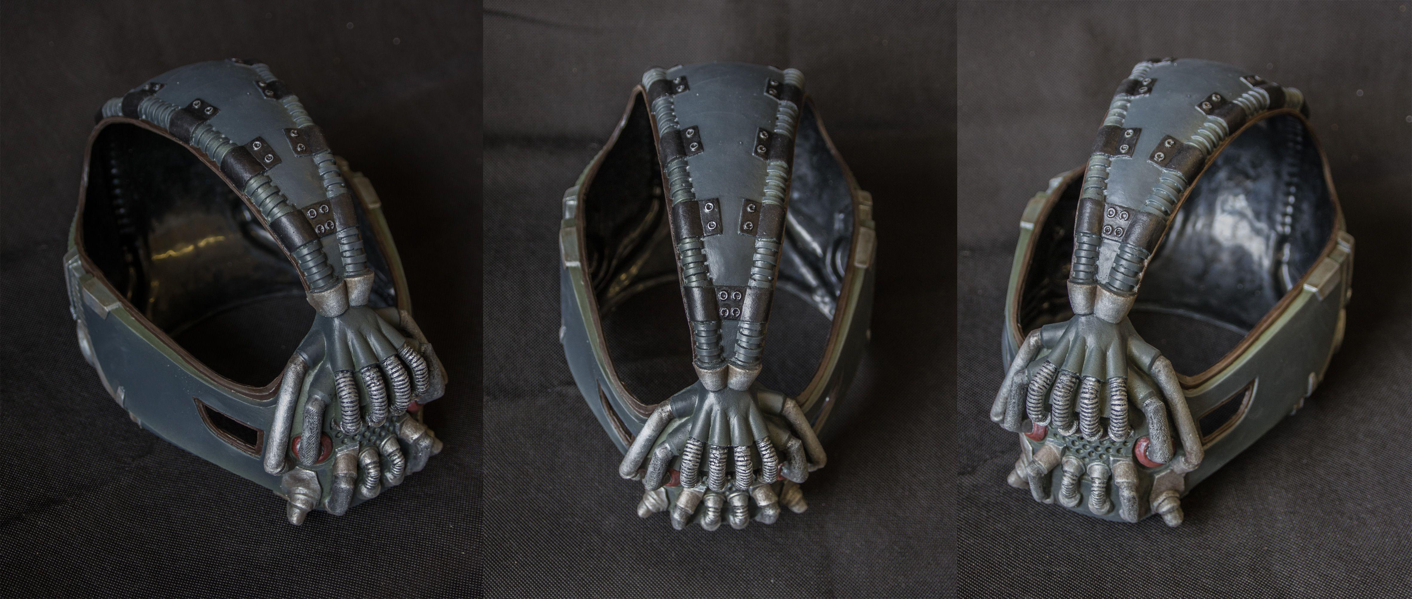 Bane mask replica | Bane mask replica | Pinterest