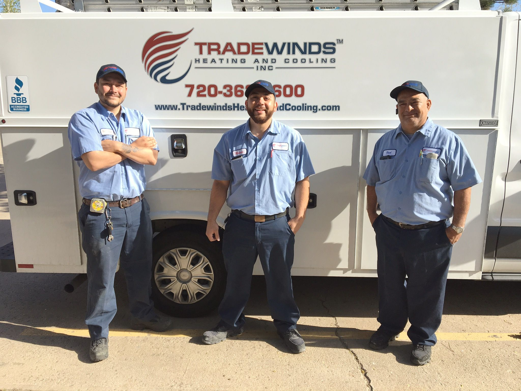 Tradewinds Heating And Cooling Inc Crew Fred Owner On The